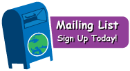 Mailing list: Sign up Today!